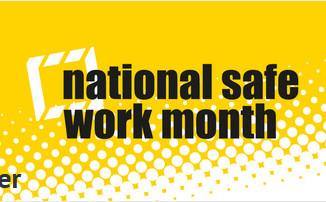 October is National Work Safe Month