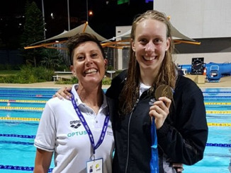 University of Canberra launches new swimming club with Tracey Menzies as head coach
