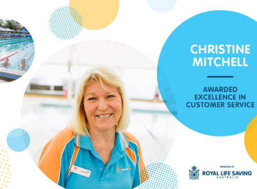 Christine Mitchell from Waves Wins Excellence in Customer Service