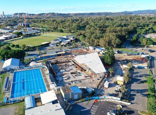 Construction of Gold Coast's new Miami Aquatic Centre moves forward