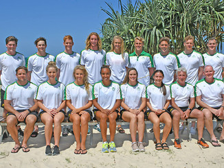 Australian Lifesaving Team Have Their Eye on Gold