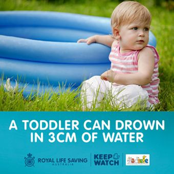 Royal Life Saving Issues Warning About Portable Pools As We Approach Summer