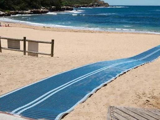 Beach Matting Provides Pathway to Inclusivity