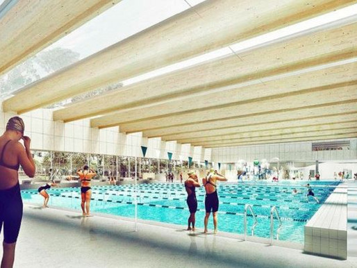 Sydney's Gunyama Park Aquatic and Recreation Centre on target for end of year completion