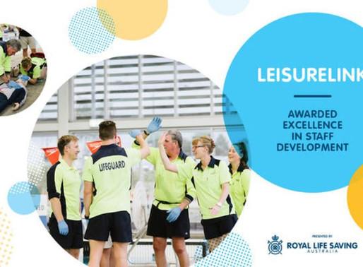 Leisurelink, Geelong Wins Excellence in Staff Development