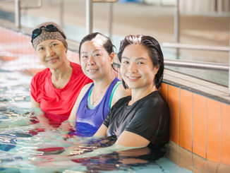 You are the Key to Successful Adult Swimming Lessons!