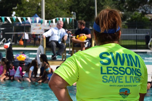 World's Largest Swimming Lessons Set to Mark 10th Anniversary