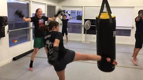 Muay Thai Class Instruction
