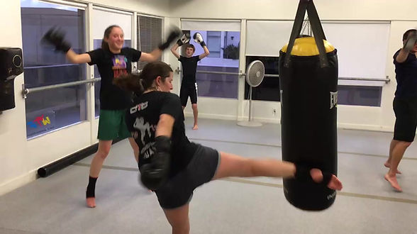 Muay Thai Class Instruction