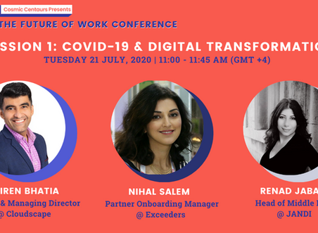Cosmic Conference Session 1: COVID-19 & Digital Transformation