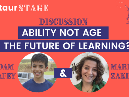 Centaur Stage Ep 10: Ability Not Age - The Future Of Learning? with Adam Elrafey