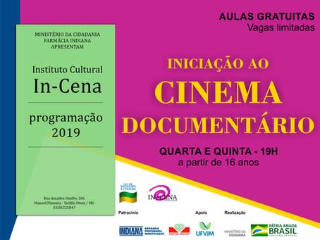 CURSO LIVRE DE INICIAÇÃO AO CINEMA DOCUMENTÁRIO
