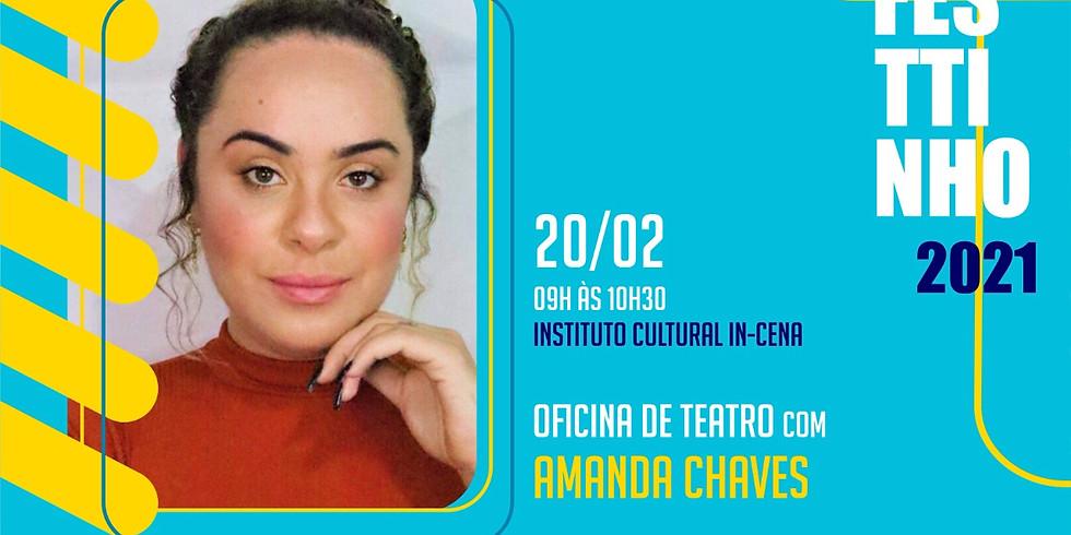 OFICINA DE TEATRO com AMANDA CHAVES