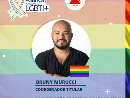 Bruny Murucci é nomeado Coordenador Municipal da Aliança Nacional LGBTI+ em Teófilo Otoni - MG