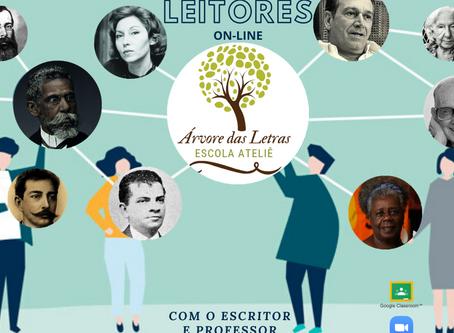 Programa Novos Leitores, com o Professor e Escritor Leandro Bertoldo Silva