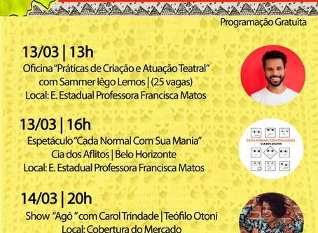 Nesta semana é a vez da cidade de Itaipé receber a Caravana Mucuriarte 2020.