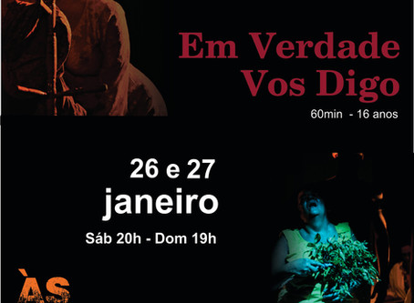 Grupo IN-CENA de Teatro se apresenta na Capital Mineira