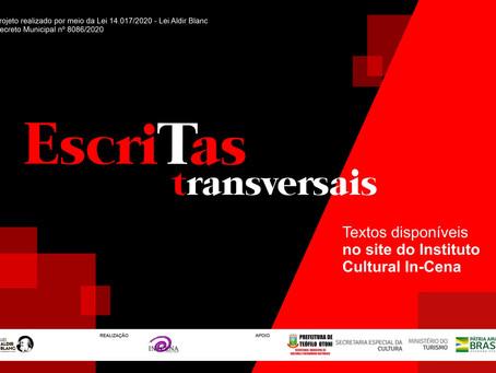 Escritas Transversais - Teatro, literatura e cinema