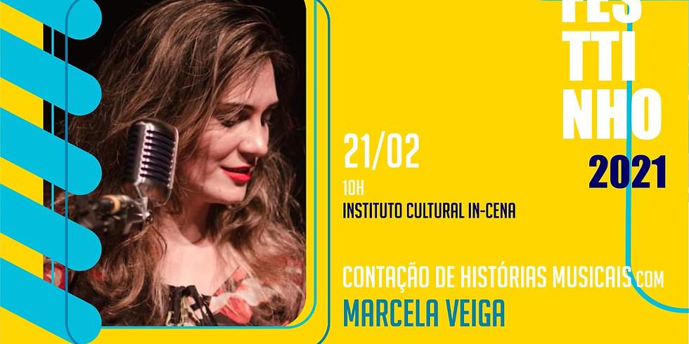 CONTAÇÃO DE HISTÓRIAS MUSICAIS com MARCELA VEIGA