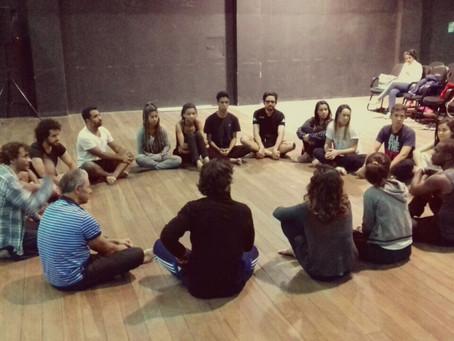 Grupo In-Cena de Teatro 10 anos/Intercâmbios 2017