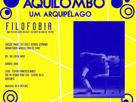 Filofobia no Aquilombô - Fórum permanente das artes negras.