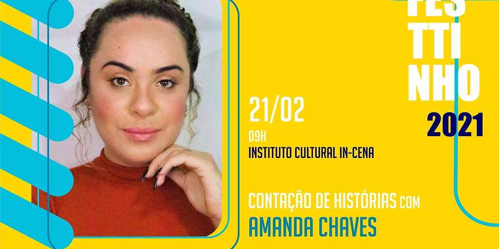 CONTAÇÃO DE HISTÓRIAS com AMANDA CHAVES