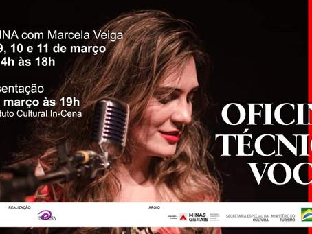 Oficina de Técnica Vocal e Apresentação Musical