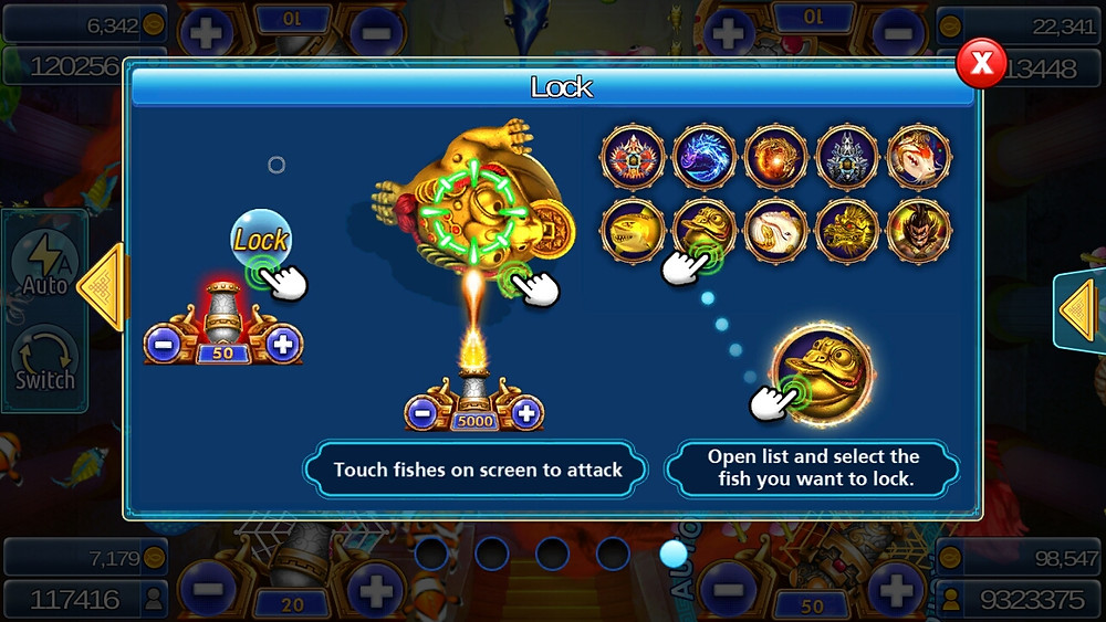Live22 : เกมยิงปลา Ocean Dragon Gun