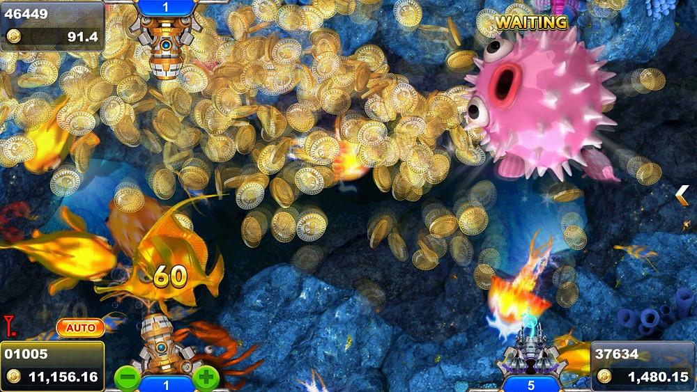 SlotXO เกมยิงปลา ตัวอย่าง 1