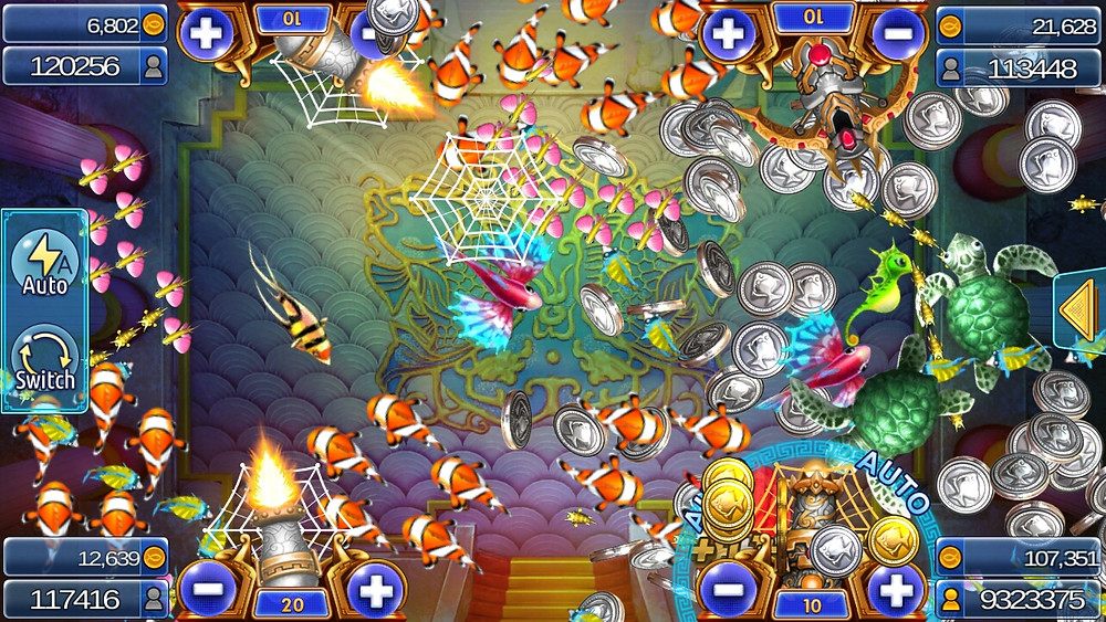 Live22 : เกมยิงปลา Ocean Dragon