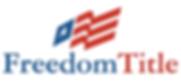 Freedom Title of Texas Logo
