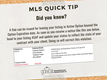 December's MLS Quick Tip Recap
