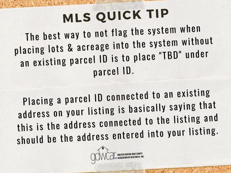 November's MLS Quick Tip Recap