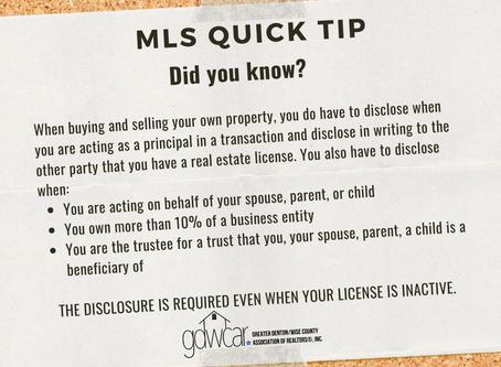 September's MLS Quick Tip Recap