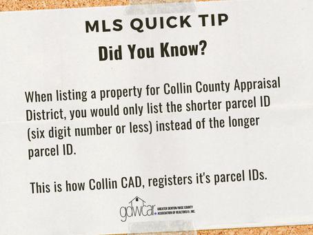 October's MLS Quick Tip Recap