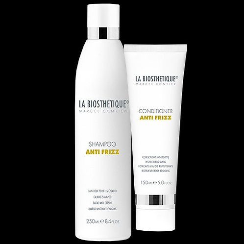 LA BIOESTHETIQUE ANTIFRIZZ Shampoo 250ml  & conditioner150ml