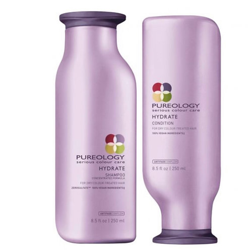 Pureology Hydrate Shampoo 250ml & Conditioner 250ml