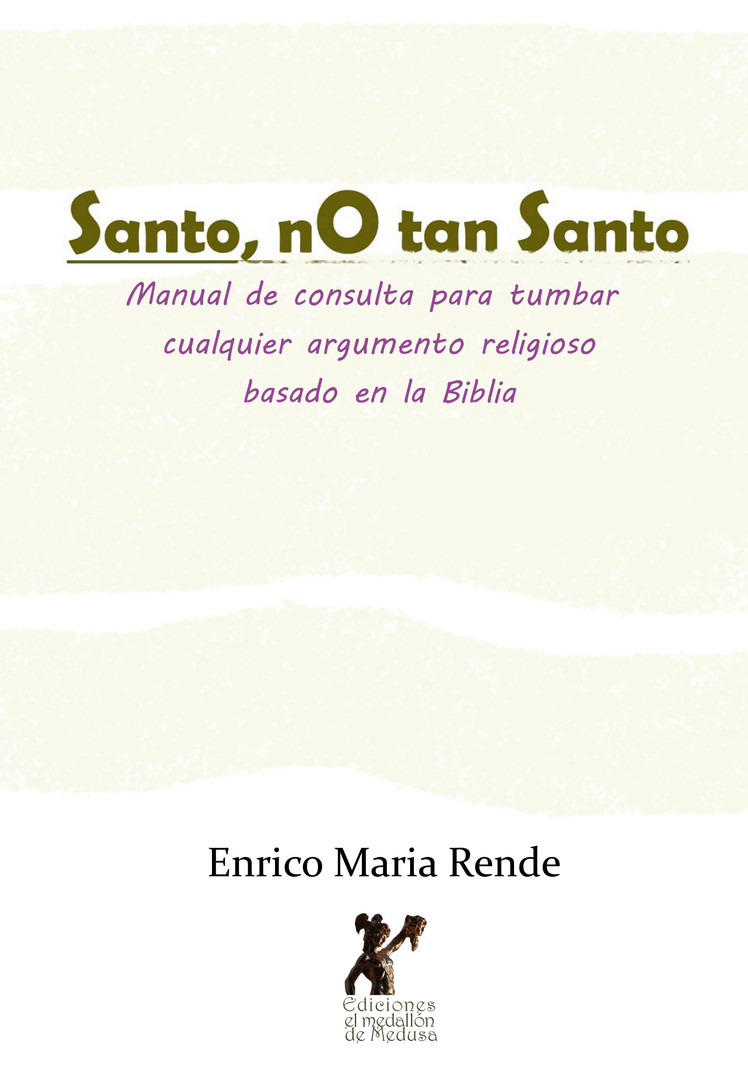 Enrico_Maria_Rende-portada_Santo_no_tan_