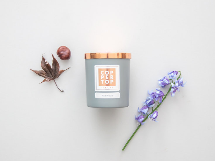 Bluebell Wood Aromatherapy Soy Wax Candle