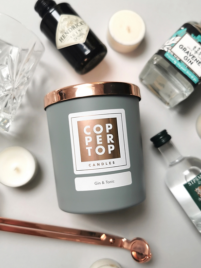 Gin & Tonic Aromatherapy Soy Wax Candle