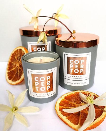 Mimosa, Neroli & Lemon Aromatherapy Soy Wax Candle