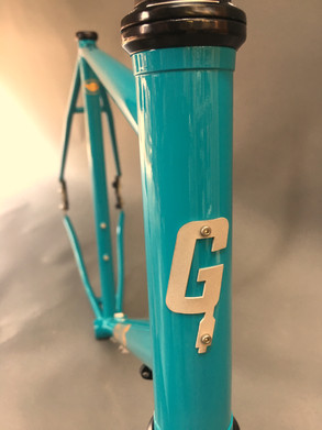Custom Gravel Bike frame
