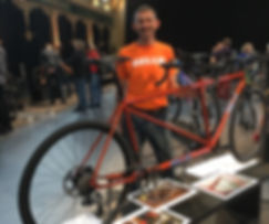 Gellie Custom Bikes Road Tandem HBSA2019 HBSA 2019