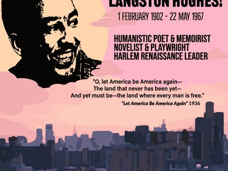 Happy Birthday, Langston Hughes!