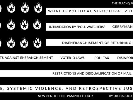 VOTER SUPPRESSION: POLITICAL STRUCTURAL VIOLENCE