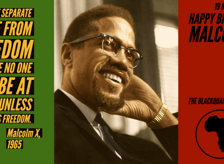 Happy Birthday, Malcolm X!