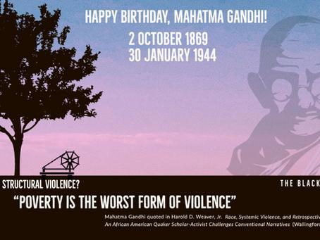 Happy Birthday Mahatma Gandhi!