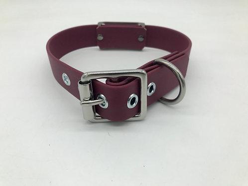 Adjustable stainless steel collar