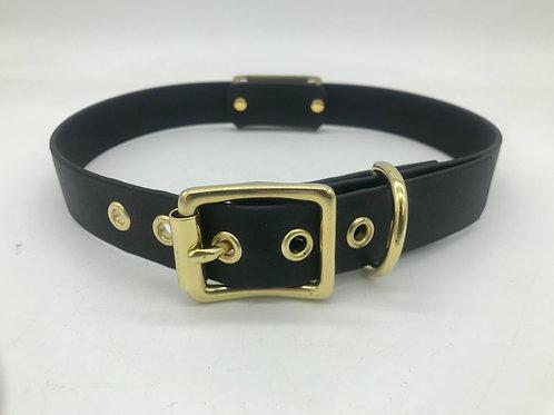 Adjustable brass collar