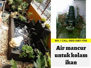 Jual Air Mancur Kolam Kolam Ikan Hias Depan Rumah